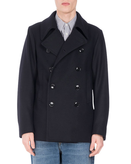 Rodrique Wool-Blend Peacoat