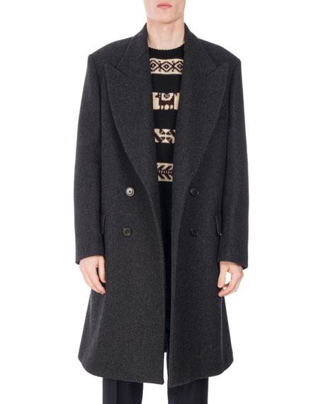Rosier Oversized Wool-Blend Coat