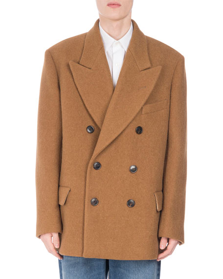 Rosier Oversized Wool-Blend Coat