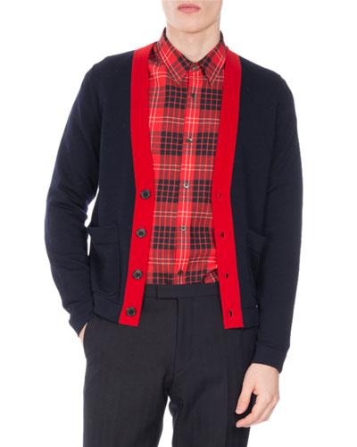 Tilman Tipped Cardigan Sweater