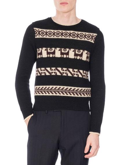 Takoda Fair Isle Jacquard Sweater