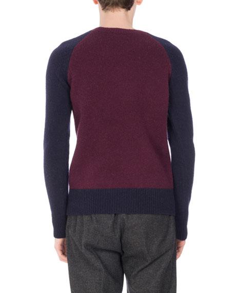 Tamal Crewneck Raglan Sweater