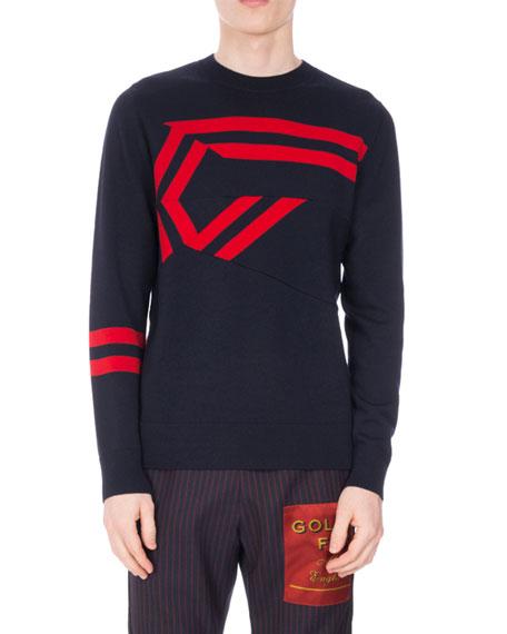 Tim Origami Crewneck Sweater