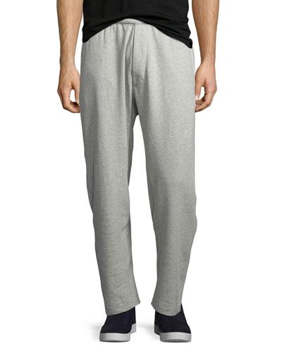 ESS Cotton-Stretch Fleece Pants, Gray