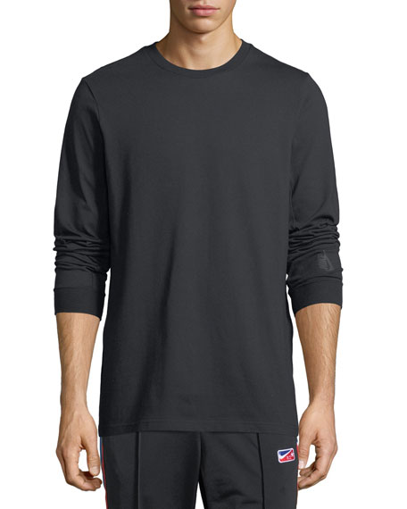 Nikelab Essential Long-Sleeve T-Shirt, Black