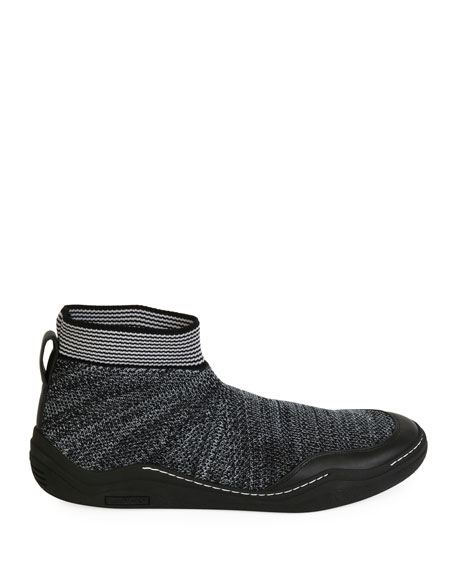 Men's Mesh Low Sock Runner Sneaker
