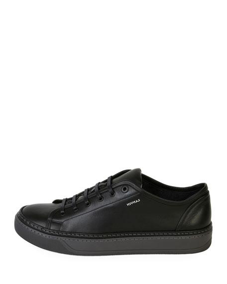 Men's Leather Low-Top Sneaker