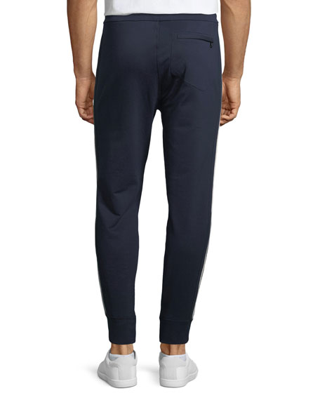 Track Jogger Pants with Stripe Trim