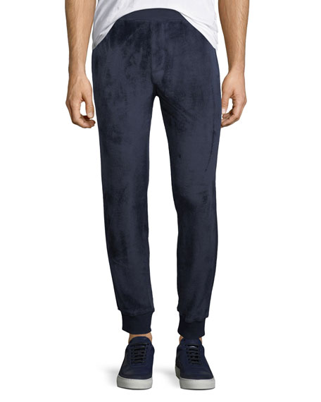 Velour Pull-On Sweatpants