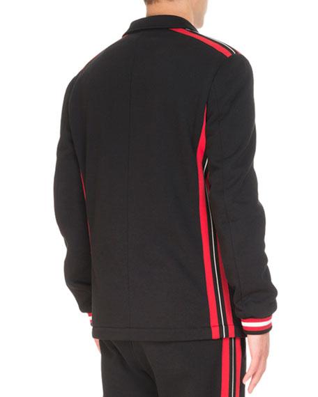 Deconstructed Jersey Jacket