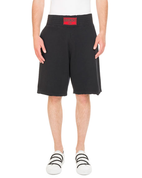 Logo Boxing-Band Sweat Shorts