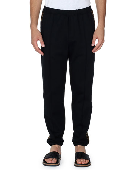 Logo-Stripe Sweatpants
