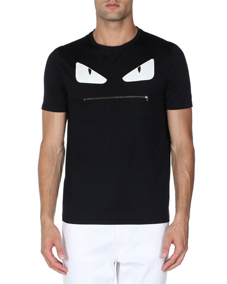 fendi monster face t shirt  Neue Under Armour Wei Tshirt Herren Online P 524 #20