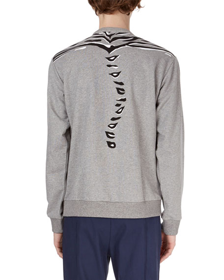 Tiger Claw-Graphic Sweatshirt