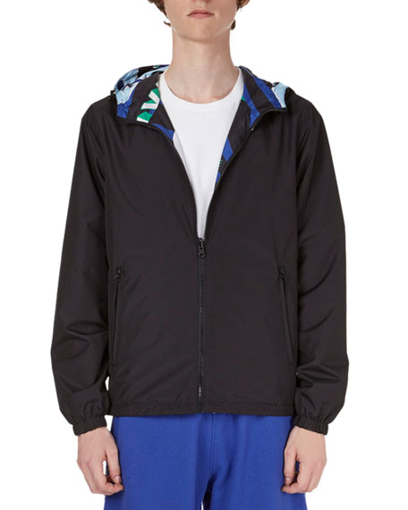 Wind-Resistant Reversible Jacket