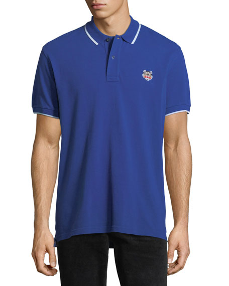 Tipped Slim-Fit Polo