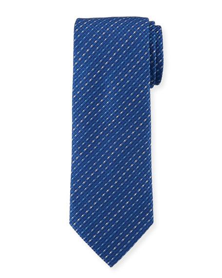 Salvatore Ferragamo Este Stripe Silk Tie