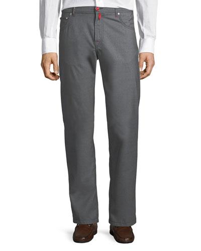 Five-Pocket Wool Pants