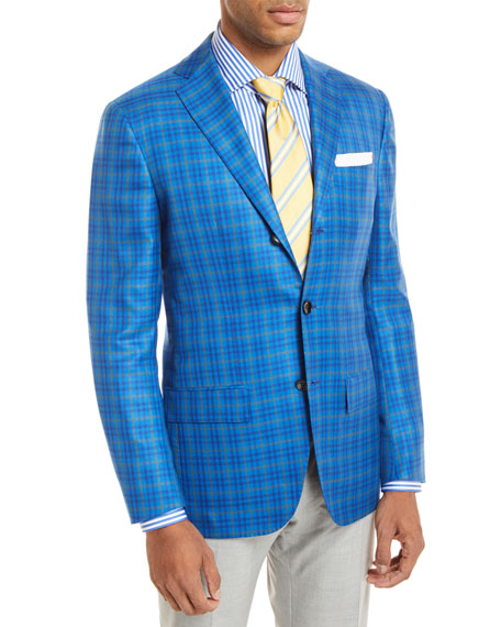 Check 3-Button Sport Coat