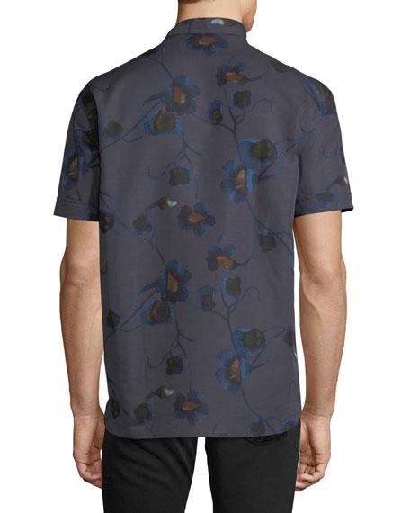 Floral Short-Sleeve Sport Shirt