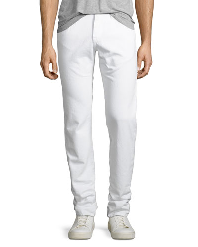 L'Homme Slim Fit Jeans  Blanc