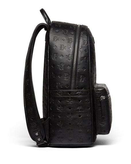 1a62f7a42fb MCM Ottomar Men s Logo-Embossed Leather Backpack