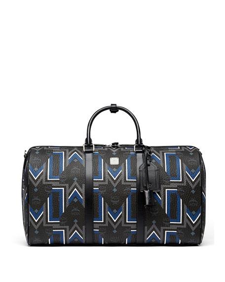 4e440615d9c MCM Gunta Logo-Print Weekender Bag