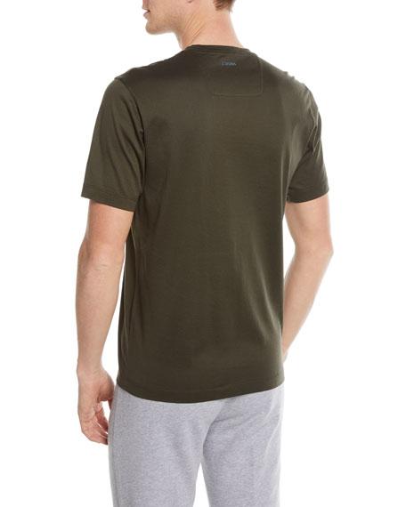 Jellyfish-Graphic Cotton T-Shirt