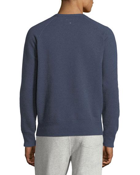 Men's Heathered Long-Sleeve Sweatshirt
