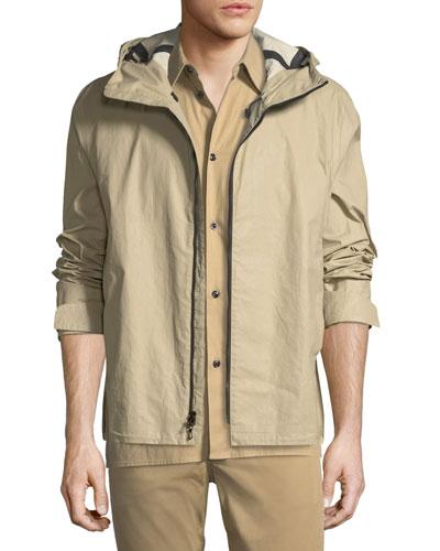 Men's Tactic Hooded Zip-Up Jacket
