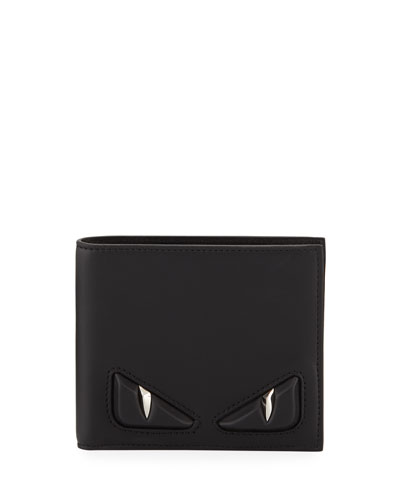 Embossed Monster Eye Bi-Fold Wallet