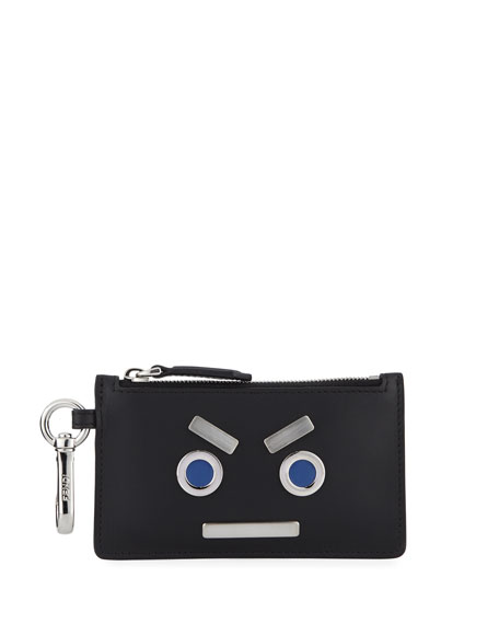 Monster Zip Pouch Key Chain