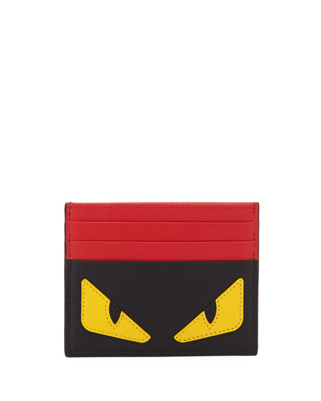 Monster Leather Card Case