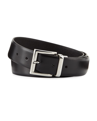 1.3W Reversible Vitello Luxe Belt