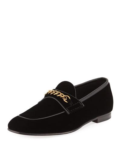 Valois Velvet Loafer