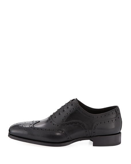 Formal Lace-Up Brogue Shoe