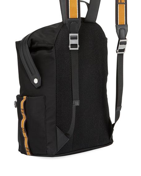 Forever Fendi Men's Striped Backpack