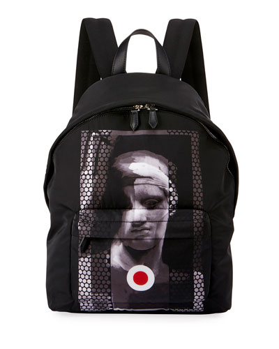 Romantic Statue Neoprene Backpack