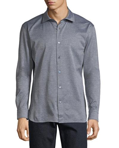 Cotton Jersey Sport Shirt