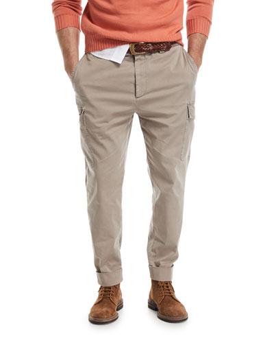 Slim-Leg Cargo Pants