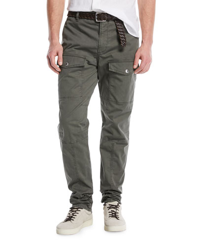 Leisure-Fit Parachute Cargo Pants