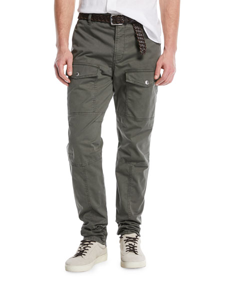 Cargo trousers Leisure Fit olive Brunello Cucinelli umoqyma6