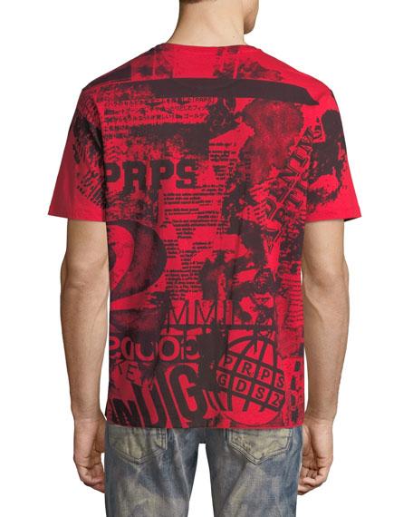 Graphic Notes Cotton T-Shirt