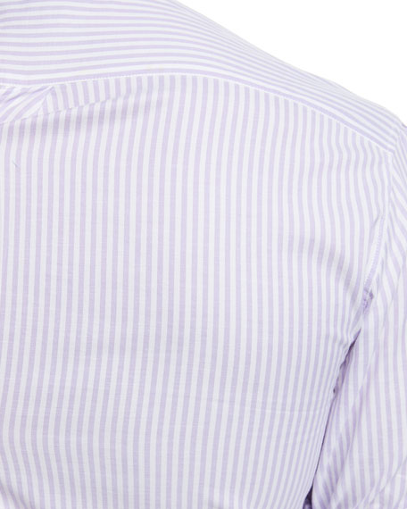 Cotton Striped Sport Shirt