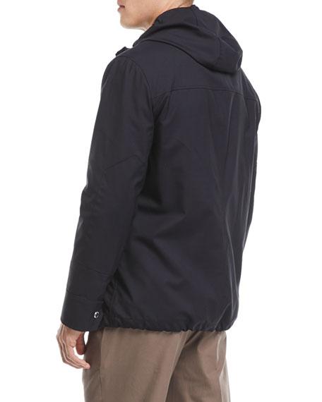 Technical Wool Utility Jacket