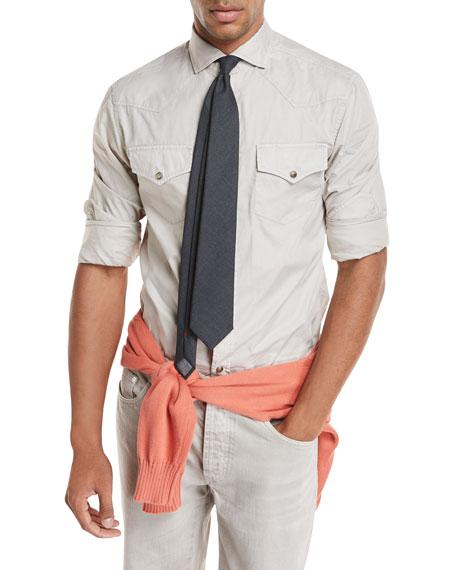 Oxford Western Style Shirt
