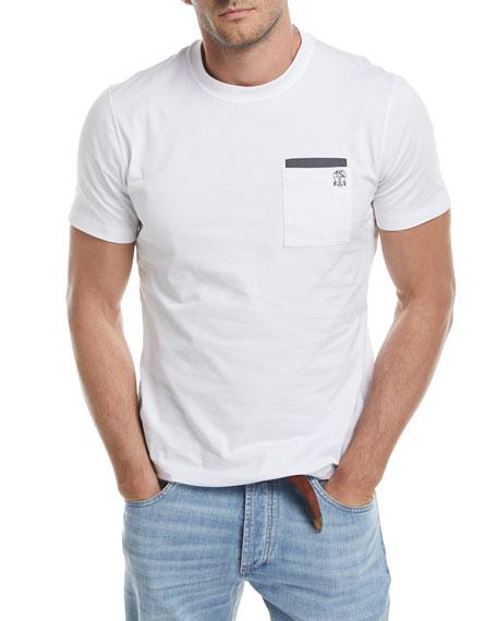 Patch-Pocket Spa T-Shirt