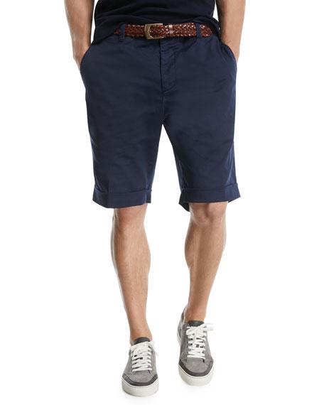 Twill Bermuda Shorts