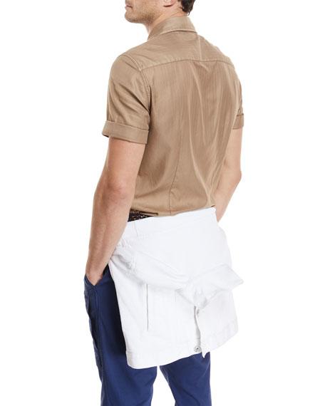 Dyed Short-Sleeve Camper Shirt