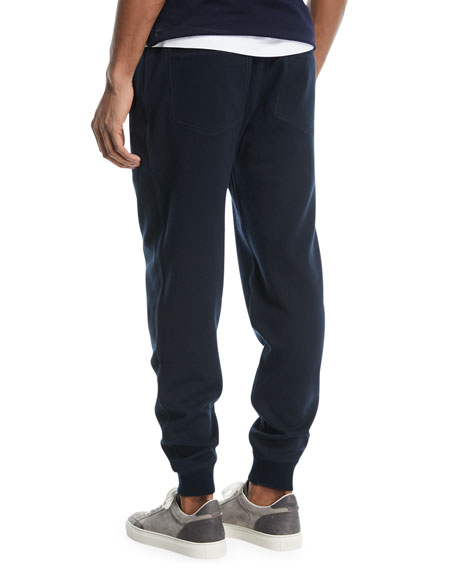 Drawstring Knit Spa Sweatpants